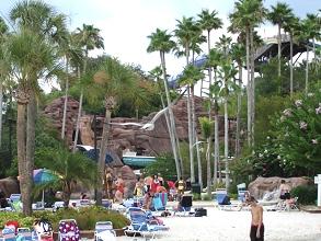 Adventure Island Wasserpark in Tampa Liegefläche