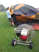 Bob Balloon Ride - Fahrt im Heißluftballon - Vorbereitung