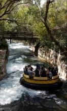 Bush Gardens Wasserbahn