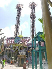 Freefalltower in Islands of Adventure