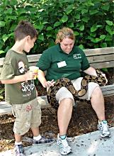 Florida Zoo Tierbegegnung
