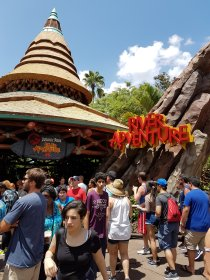 Jurassic Adventure in Islands of Adventure
