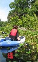 Kayak fahren in Central Florida Herausforderung