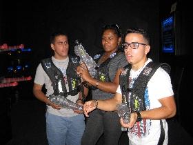 Lasertag im Whirleydome Orlando - Team