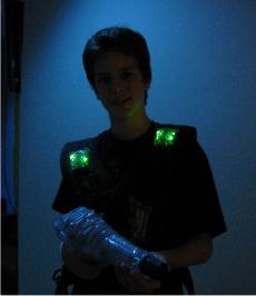 Lasertag im Whirleydome Orlando - Spieler