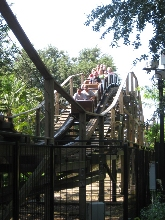 Legoland Holzachterbahn