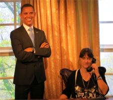 Madame Tussauds Orlando Obama