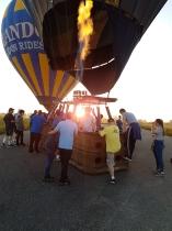 Orlando Ballon Ride Einstieg