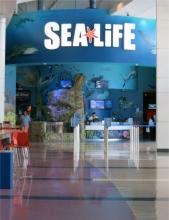 Sea Life Eingang