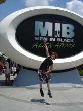 Man in Black Univeral Studios Orlando