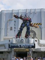 Universal Stuios Orlando Transformers