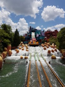Ripsaw Falls in islands of Adventure