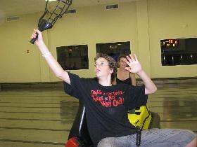Whirleyball Spieler